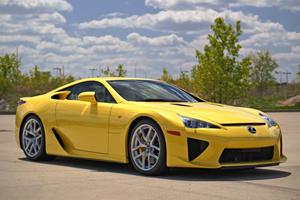 Stunning 72-Mile Lexus LFA Is Automotive Perfection