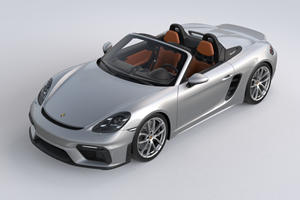 Special Edition Porsche 718 Spyder Was Inspired By Iconic Carrera GT
