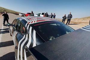 Watch The Tesla Model S Plaid Race Up Pikes Peak