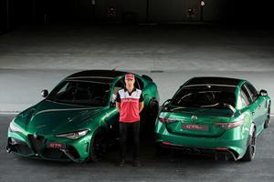Alfa Romeo Giulia GTA Gets The Kimi Raikkonen Stamp Of Approval