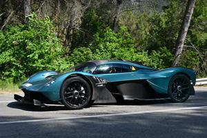 Listen To The Aston Martin Valkyrie Scream On Public Roads