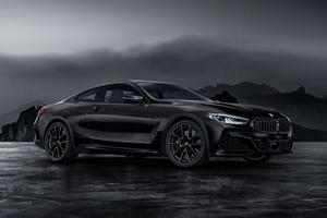 BMW Embraces The Dark Side With 8 Series Frozen Black Edition