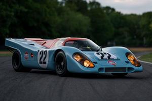 Porsche 917K From Steve McQueen's 'Le Mans' Could Fetch $16 Million