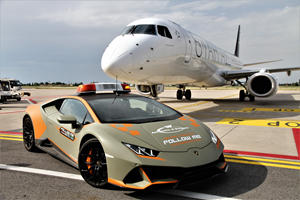 Supercar City Just Hired Another Lamborghini For Airport Duty