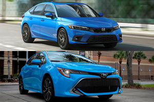 Family Hatchback Comparison: Honda Civic Vs. Toyota Corolla