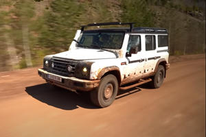 World's Coolest SUV On A Mission To Clear Landmines