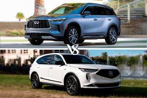 2022 Infiniti QX60 Vs. 2022 Acura MDX: Family Luxury Faceoff