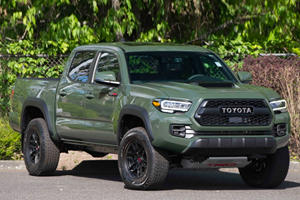 The One-Millionth Toyota Tacoma Begs To Be Sold