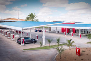 Tesla Opens Supercharger Network To Other Car Brands