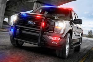 2021 Ford F-150 Police Interceptor Is America's Fastest Cop Car