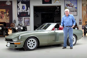Jay Leno Loves This Nissan 240Z With A Chevy V8 Engine
