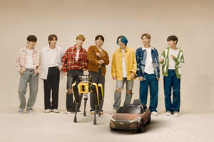 Hyundai's New Robot Has A Dance-Off With BTS