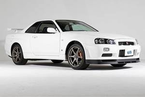Ultra-Rare R34 Skyline GT-R Has Just 10 Miles On The Clock
