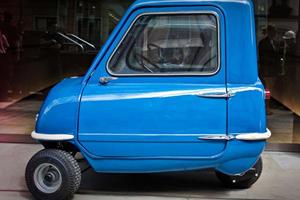 Three-Wheeled Cars: Peel P50