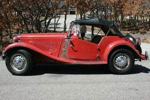 Unique of the Week: 1951 MG TD