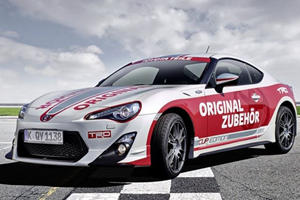 Toyota GT86 Sets the Pace for VLN