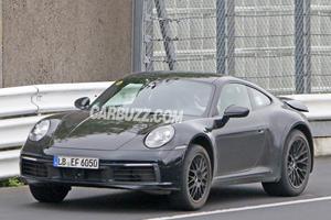 Porsche's New 911 Safari Hits The Nurburgring