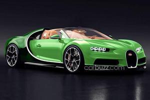 Bugatti Chiron Convertible Won't Happen