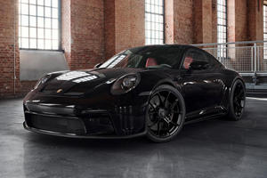 Porsche Reveals Custom Blacked-Out 911 GT3 Touring
