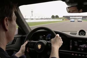 Tom Cruise Thinks He's In Top Gun Driving Porsche 911 GT3