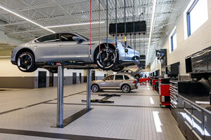 Porsche's New Multi-Million Dollar Service Center Is Awesome