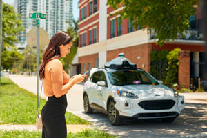 Autonomous Ride-Sharing Fords Coming To Miami This Year