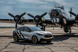 Ford Reveals One-Of-One Mustang Mach-E Honoring WWII Heroines