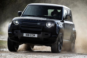 New Range-Topping 600-HP Land Rover Defender SVR Is Coming