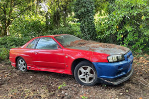 This R34 Skyline Is Actually Going To Be An R35 Nissan GT-R