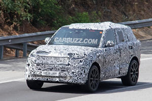 First Look At The New High-Performance Range Rover SVR