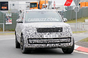 Here's Our Best Look Yet At The 2023 Range Rover