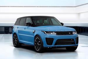Land Rover SVO Unleashed On Bespoke Range Rover Sport SVR