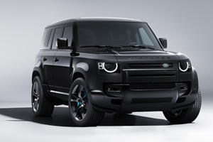 Land Rover Defender V8 Bond Edition Is Fit For A Villain