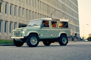 1948 Land Rover Defender Revived With Corvette Engine And $300,000 Price Tag