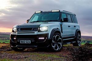 Land Rover Defender Gets A Menacing Makeover