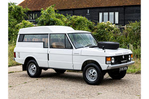 This Rare Range Rover Shooting Brake Is The Coolest Oddball