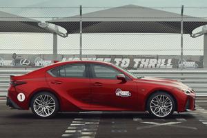 Fastest Driver Wins 2022 Lexus IS 500 F Sport Performance