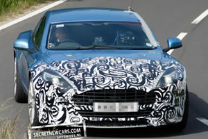 Spied: Facelifted 2013 Aston Martin Rapide