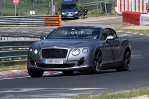 Spied: 2012 Bentley Continental GTC