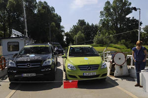 Mercedes-Benz F-Cell Passes The Test