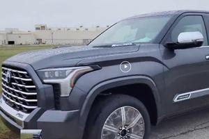Toyota Tundra Capstone Trim Leaked Online