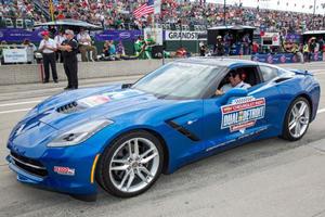 Stingray Corvette Paces Detroit Indy