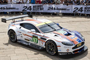 Aston Shows Gulf Livery for Le Mans