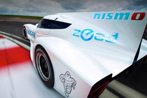Nissan Reveals World's Fastest Electric Racer