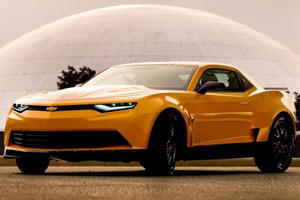 All New Camaro Bumblebee Revealed for Transformers 4