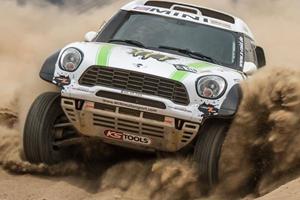 Dakar-Winning X-raid Mini All4 is Just Nuts
