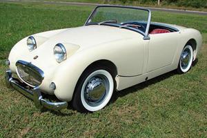 Baby Buys a 1962 Austin-Healey Sprite