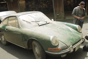 Barn Find Porsche 912 is Instant Gratification