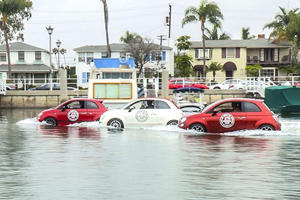 Fiat 500-Inspired Boats Hit the Pacific