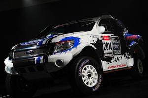 Mustang-Powered Ford Rangers Heading to Dakar